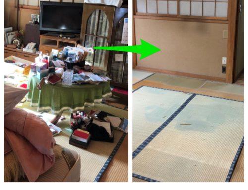 残置物撤去(東京都) Before & After